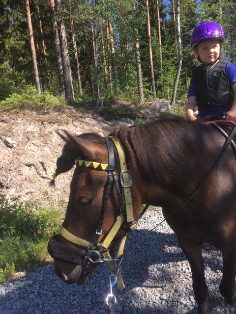 Budkavleritten 2020 - Edit Nilsson 5 år på Islandshästen Saeta 4 år
